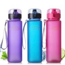 Casno 400ml-es szivárgásbiztos BPA mentes kulacs zöld színben