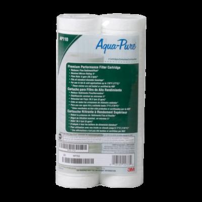 """3M™ Aqua-Pure™ AP110 mélységi 10""""-os szűrőbetét Dupla Csomagban, 5 mikron"""