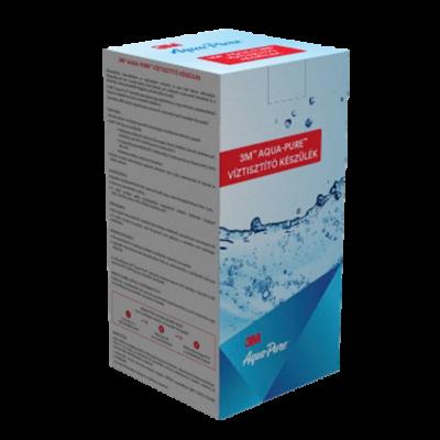 3M™ Aqua-Pure™ Víztisztító készülék 1 mikronos ezüstözött aktívszén-blokk szűrővel és vízkőgátló adalékkal választható csappal
